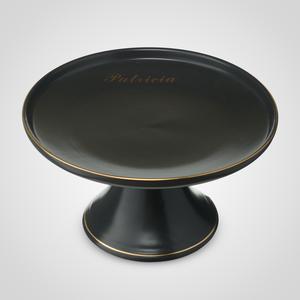Керамическая Черная Тортница