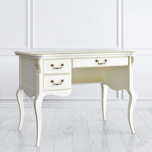 Стол кабинетный пристенный L, Romantic Gold