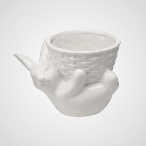 Керамический Кролик-Кашпо