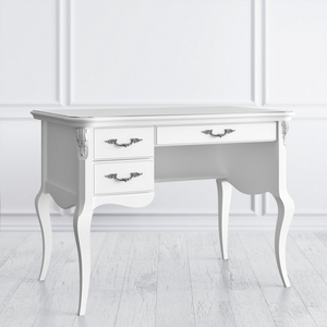 Стол кабинетный пристенный L, Silvery Rome