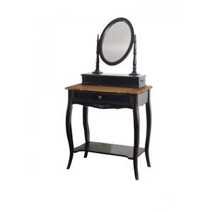 Макияжный столик с овальным зеркалом Leontina ST9121N