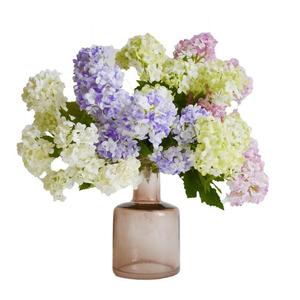 Цветочная композиция / Калина розовая 40 см