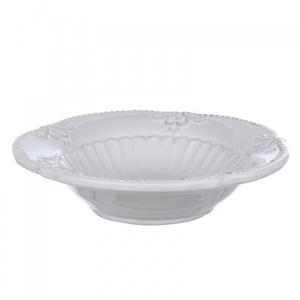 Тарелка M из грубой керамики DB08-0009