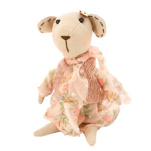 Мышка в платье маленькая 10х22 70091147