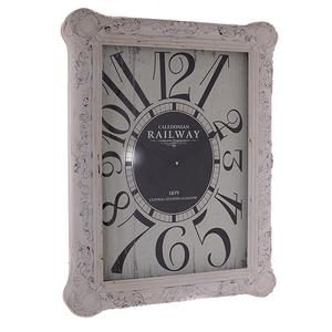Часы ретро белые B.1053