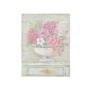 Панно цветы в вазе 36х46 FR0443