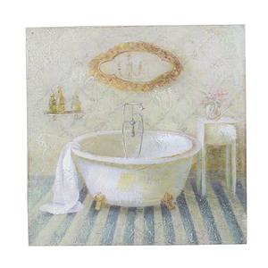Панно белая ванная 25х25 FR0479