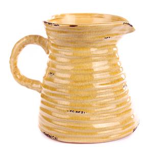 Кувшин жёлтый с Королевской лилией 16х20 см LY12F322-2F