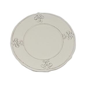 Тарелка керамическая кремовая 22 см. T10407-2