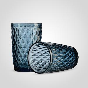 Стакан для Воды/Сока Стеклянный Синий