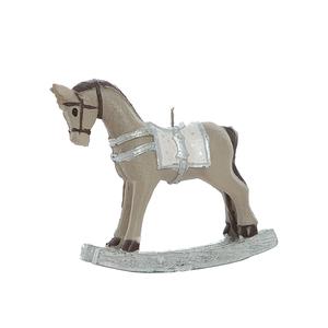 Свечка лошадка маленькая 13х5х10 см F10111GR