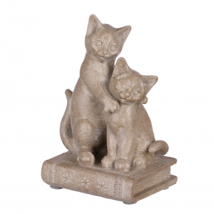 Статуэтка кошки на книге 9х6,5х13 QJ99-0037