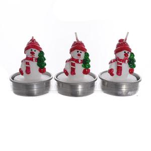 Набор свечей снеговики SD-003-Е