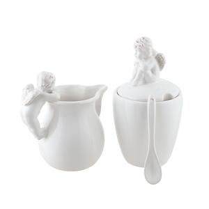 Набор молочник+сахарница Ангелы