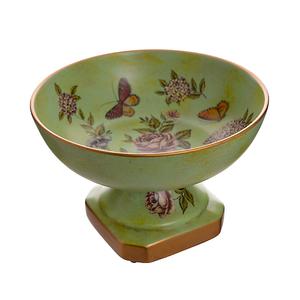 Фруктовница керамическая Бабочки H18579-1188B-10.5