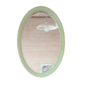 Овальное зеркало (зеленое) ST9333G
