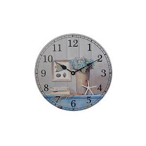 Часы настенные круглые морской бриз YK-4