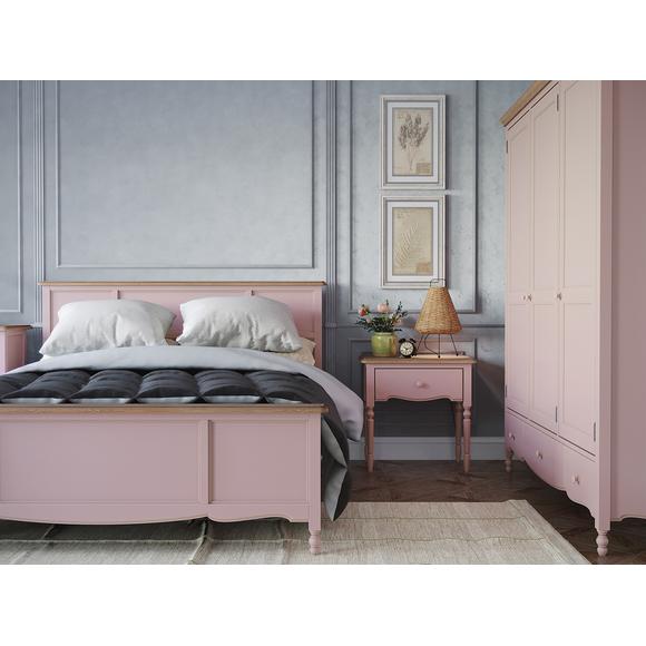 Кровать Leblanc, двуспальная, лаванда