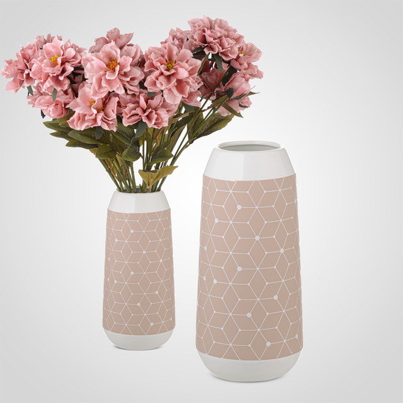 Ваза Керамическая Розовая