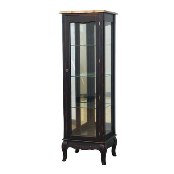 Стеклянная витрина на 3 полки (низкая) ST9119N