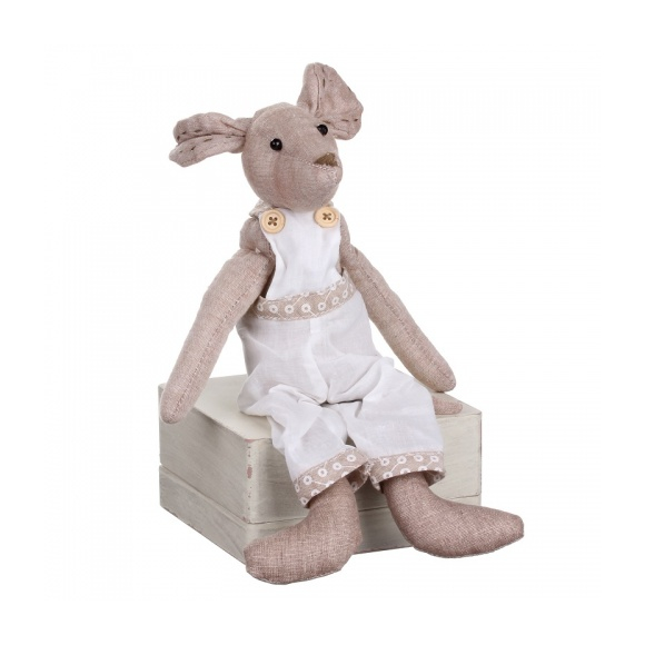 Сидящая мышка (мальчик) 9х5х17см LJ87-0012
