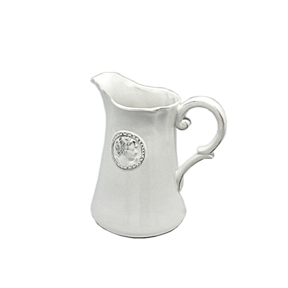 Кувшин керамический белый 20х14см T02303-1