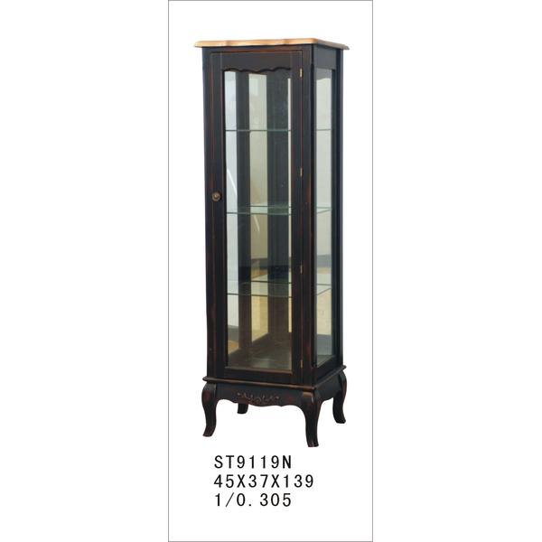 Стеклянная витрина на 4 полки (высокая) ST9119RN