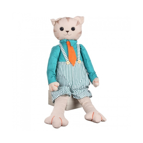 Кот сидящий (мальчик) 21х10х60 LJ87-0023