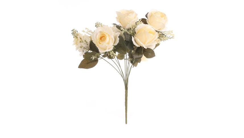 Цветочная композиция / Чайная роза 50 см