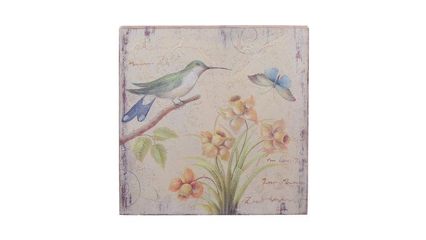 Панно Птичка на ветке FRT1858