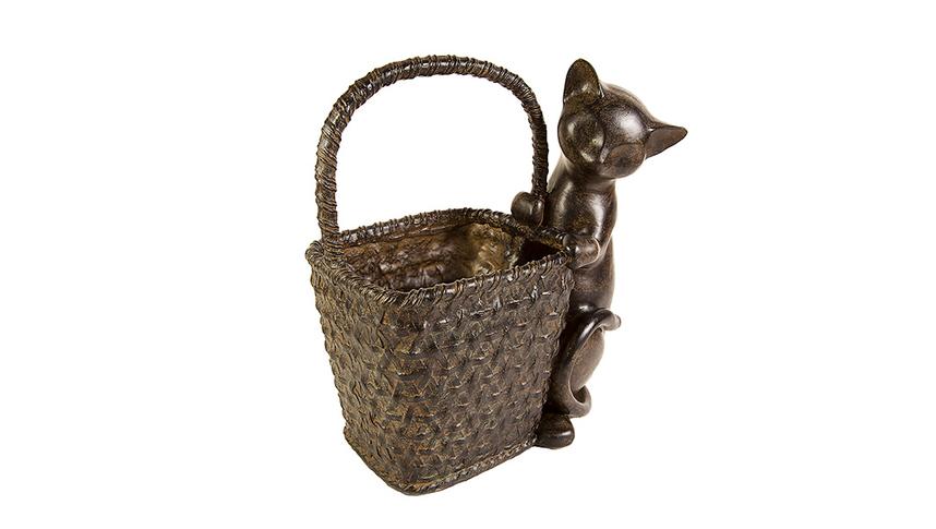 Кошка с корзинкой 11088260