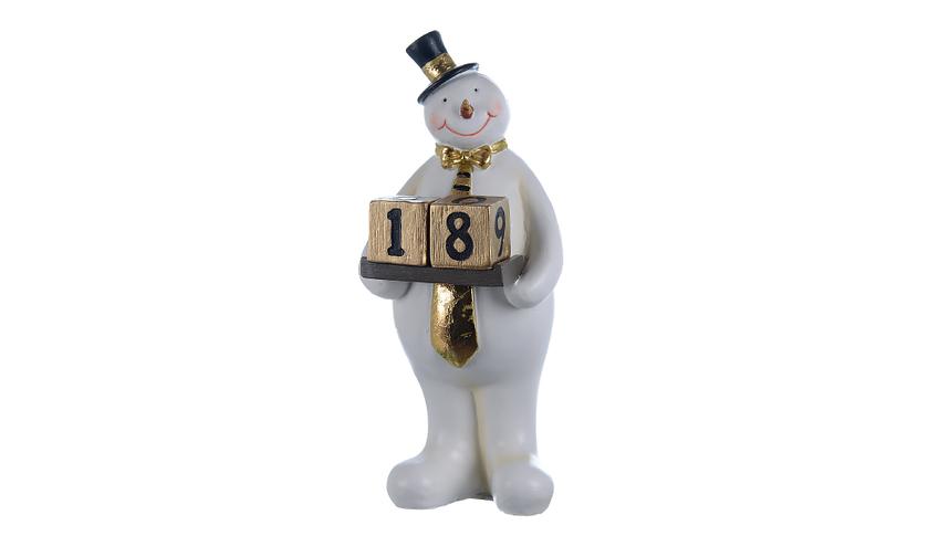Фигурка декор Месье снеговик A1316501