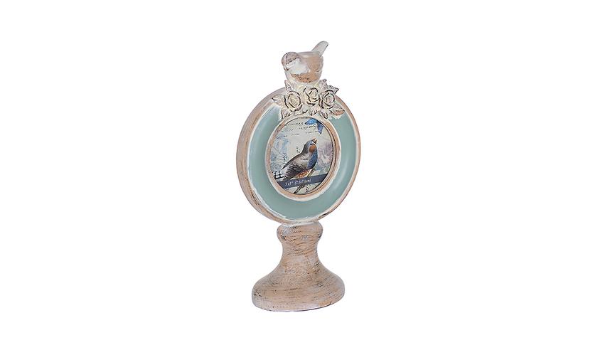 Фоторамка-кубок Бирюзовая птичка