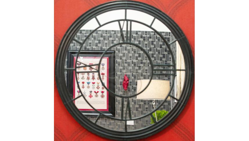 Настенное зеркало «Сен-Лазар» (черный антик)