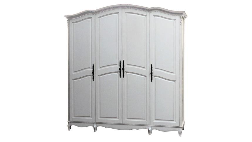Шкаф 4-х дверный White Rose