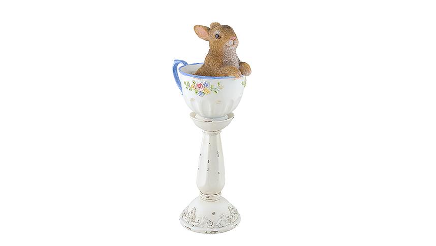 Декор кролик в кубке 2015501
