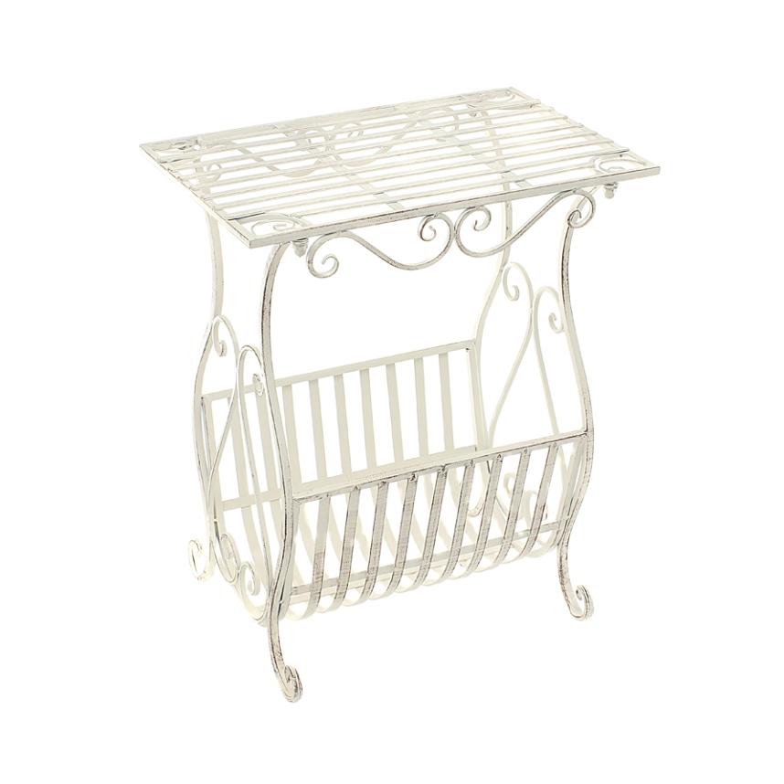 Журнальный столик с квадратной столешницей (завиток) 50*34*61 см