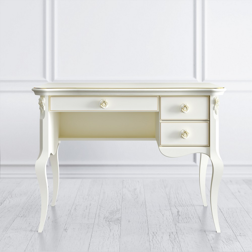 Стол кабинетный пристенный R, Golden Rose