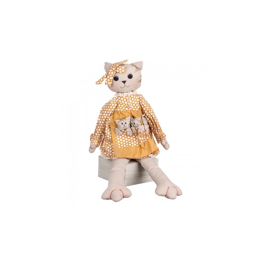 Кошка сидящая 18х9х48см LJ87-0024