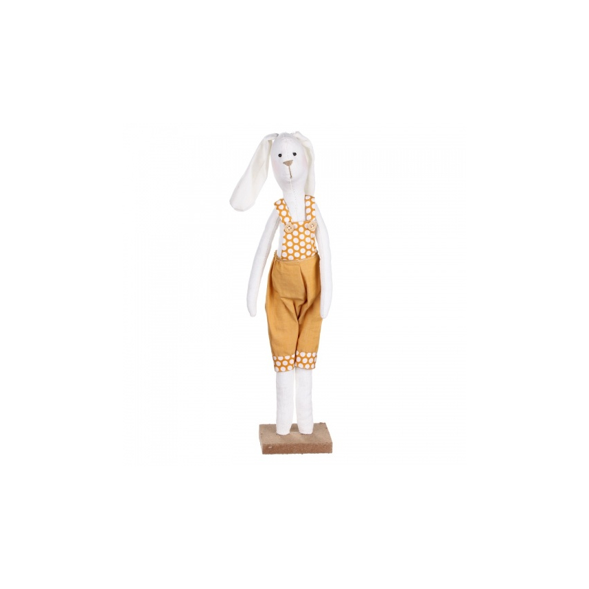 Заяц стоящий (мальчик) 8,5х7,5х41см LJ87-0032
