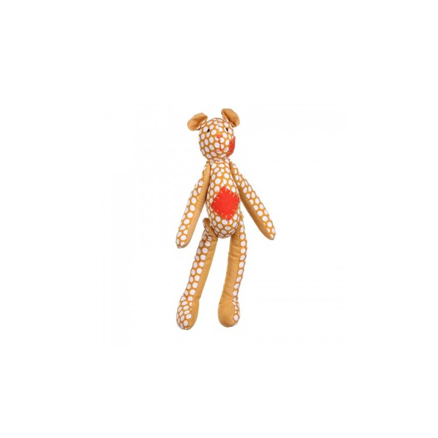 Медведь желтый 9х6х24см LJ87-0048