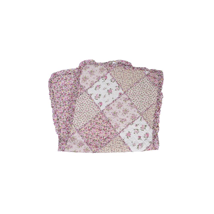 Дорожка короткая розовая 9949010