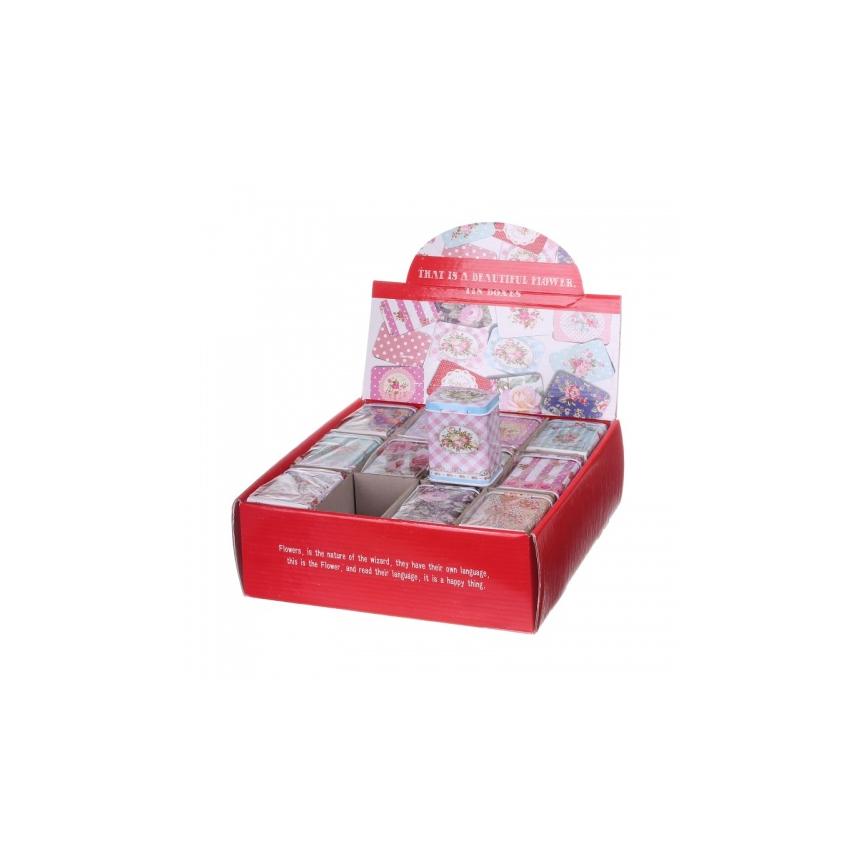 Баночки для сыпучих продуктов (24 шт) 4х5х7 BX99-0008