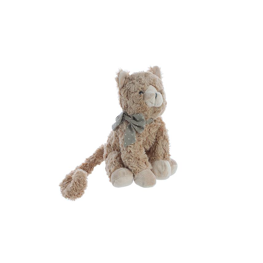 Котик с бантиком 25 см. G13SW016