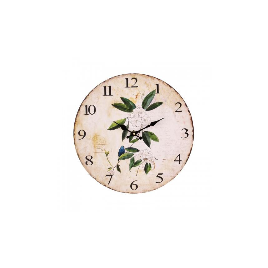 Часы настенные круглые 34х34x3,5 EW99P-0018