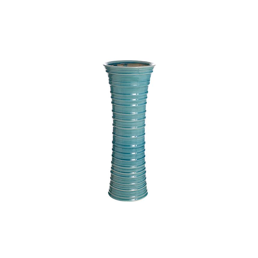 Ваза керамическая голубая роза (40см) 44G-1