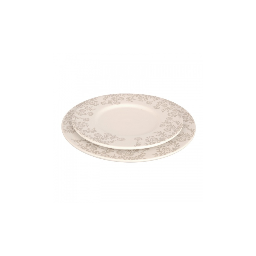 Тарелка M Лиана с узором MC08-0017